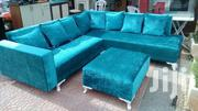 Gilter Blue Sofa Made On Special Orders | Furniture for sale in Central Region, Kampala