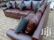 L Shape Lather Sofa | Furniture for sale in Central Region, Kampala