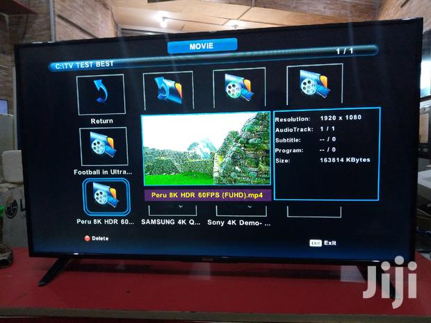 "SOLSTAR 43"" LED Digital Flat Screen TV"