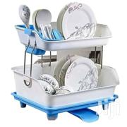 Plastic 2 Tier Dishrack - Blue | Kitchen & Dining for sale in Central Region, Kampala