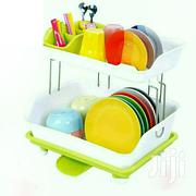 Plastic 2 Tier Dish Rack - Green | Kitchen & Dining for sale in Central Region, Kampala