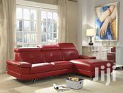 Red Pure Leather Sofa Set | Furniture for sale in Central Region, Kampala