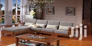 Natural Wood L Sofa Set On Special Orders | Furniture for sale in Central Region, Kampala