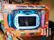 "ATOUCH Karaoke Video Learning 7"" Kids Tab + Game's Blue 
