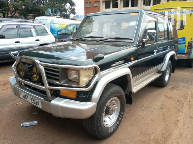 Archive: Toyota Land Cruiser 1996 Green