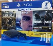 Brand New Ps4 With 3games A Great Black Friday Sale | Video Game Consoles for sale in Central Region, Kampala