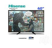 "Hisense 40"" Flat TV With Inbuilt Free To Air Decoder - Black 