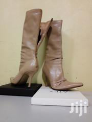 Top End Cream Leather Boots   Shoes for sale in Central Region, Kampala