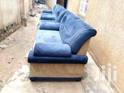 Navy Blue Five Seaters Fabric Sofa Set | Furniture for sale in Central Region, Kampala