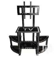 Glass Tv Stand With Screen Mounting | Furniture for sale in Central Region, Kampala