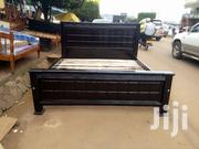 Simple Bed,In Coffee Brown | Furniture for sale in Central Region, Kampala