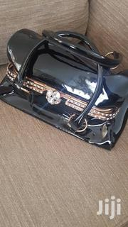Black Bag With Metal Gold Closing Detail | Bags for sale in Central Region, Kampala