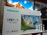 55 INCHES HISENSE SMART ULTRA HD DIGITAL FLAT SCREEN | TV & DVD Equipment for sale in Central Region, Kampala