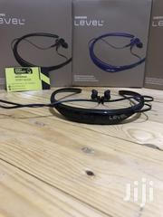 Level U 730 Wireless Outdoor Neckband With Mic-gold,Black&Blue   Headphones for sale in Central Region, Kampala