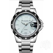 Stainless Steel Analog Waterproof Wrist Watch - Silver | Watches for sale in Central Region, Kampala