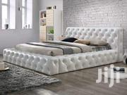 Leather Bed Pined | Furniture for sale in Central Region, Kampala