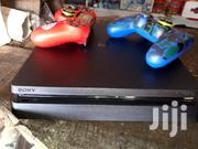 PS4 Slim With 2 Controllers And Three Game Discs. | Video Game Consoles for sale in Central Region, Kampala