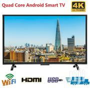 "55"" LED Smart TV 4K Ultra HD LED Screen HDMI Wifi Android Quad CORE 