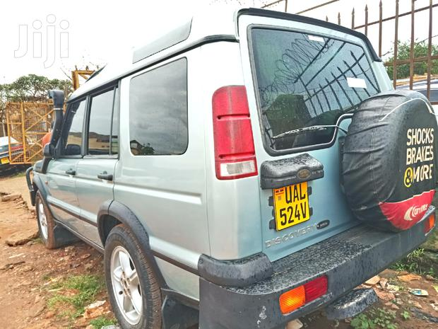 Archive: Land Rover Discovery II 2004 Silver