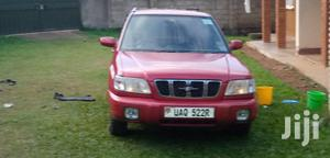 Subaru Forester 2002 Automatic Red
