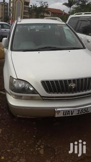Toyota Harrier 1999 White   Cars for sale in Central Region, Kampala
