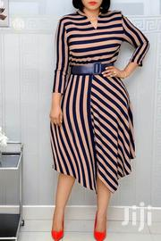 Round Office Dress With Belt | Clothing for sale in Central Region, Kampala