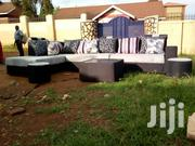L/Sofa Black And White | Furniture for sale in Central Region, Kampala