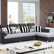 Black & White L/Sofa | Furniture for sale in Central Region, Kampala