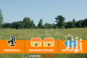 10 Acres With Borehole, Wells and 2workers Houses for Sale | Land & Plots For Sale for sale in Central Region, Luweero