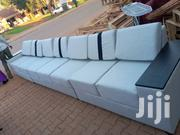 Off White Leather Sofa | Furniture for sale in Central Region, Kampala