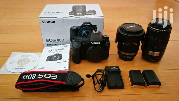 Archive: Canon Digital SLR EOS 80D Double Lens 18-200mm