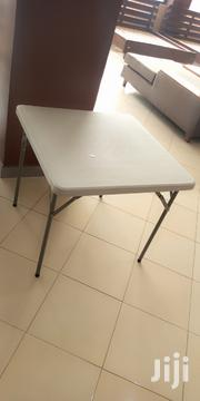 Squared Plastic Foldable Table   Furniture for sale in Central Region, Kampala