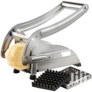 Potato Chipper With 2 Changeable Blades for Making Chips - Silver | Kitchen & Dining for sale in Central Region, Kampala