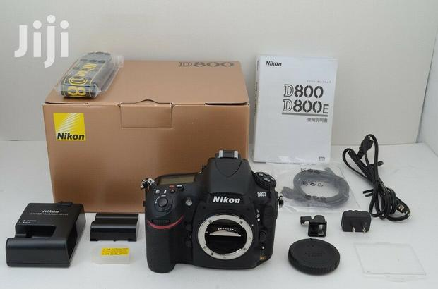 Archive: Nikon D800 36.3MP Digital SLR Camera Black Body