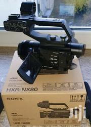 Sony HXR-NX80 4K Camcorder | Photo & Video Cameras for sale in Central Region, Sembabule