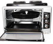 BF-0725 50 Ltrs Mini Oven With Cooktop Inox | Restaurant & Catering Equipment for sale in Central Region, Kampala