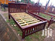Simple Bed 4 by 6   Furniture for sale in Central Region, Kampala