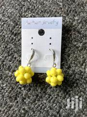 Chic Handmade Yellow Earrings | Jewelry for sale in Central Region, Kampala