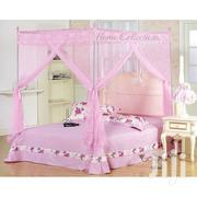 4*6 Mosquito Net Pink With Metalic Stands | Home Accessories for sale in Central Region, Kampala