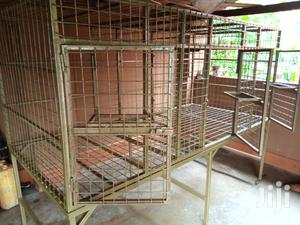 Well Welded And Coated Kennels