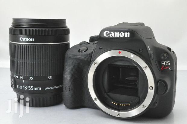 Archive: Canon EOS Kiss X7 Digital SLR Camera White EF-S 18-55 IS Lens Kitw/Box