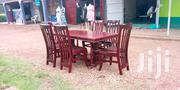 Wooden Dining Table With Chairs | Furniture for sale in Central Region, Kampala
