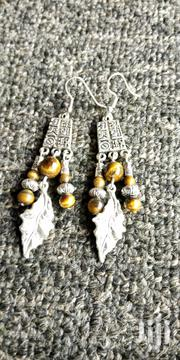 Handmade Tiger Eye Earrings | Jewelry for sale in Central Region, Kampala