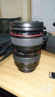 Canon Lens 24-105 | Cameras, Video Cameras & Accessories for sale in Central Region, Kampala