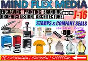 Printing Stamps, Company Seals And Graphics Designing | Other Services for sale in Central Region, Kampala