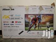 Hisense 43-inch Smart TV 4K UHD | TV & DVD Equipment for sale in Central Region, Kampala