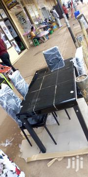 4 Seaters Glass Dinner Table | Furniture for sale in Central Region, Kampala