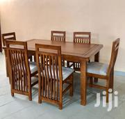 6 Seater Dinning Table / Brown Colour / High Back Seats | Furniture for sale in Central Region, Kampala