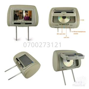 Headrest Monitor With Dvd