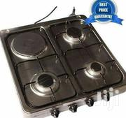 Blueflame Desktop 3 Gas Burners + 1 Electric 50*50cm - Sliver | Kitchen Appliances for sale in Central Region, Kampala